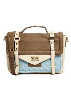 Warehouse Colourblock Satchel - £36 - Asos