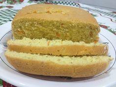 Receita de Pão sem glúten com cenoura e cebola na máquina de pão - Tudo Gostoso
