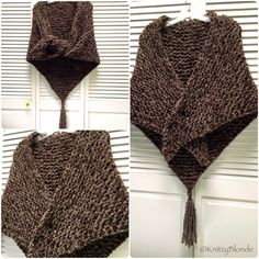 Outlander Shawl Wrap Claire Sassenach Scottish by KnitzyBlonde