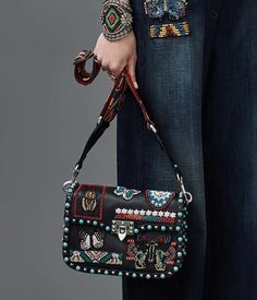 Valentino has an enviable thing: a bag line so beloved that it doesn't have to reinvent the wheel every season. For Resort 2017, though, the brand charts the most new bag territory we've seen from it in a while, clearly in search of a way forward from the Rockstud staples that have sustained it for …