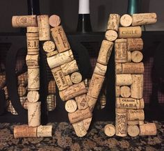 Hanging Wine Cork Letter / Wine Cork Initial / Home Decor / Wine cork monogram / House warming gift / Bar decor / Kitchen decor / Wall decor / bridal shower gift / wine gift basket / monogram decor / Etsy / handmade gifts Wine Cork Monogram, Wine Cork Letters, Wine Cork Art, Wine Cork Crafts, Diy Letters, Wine Corks, Wine Bottles, Wine Theme Shower, Wine Cork Jewelry