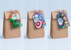 Lego Avengers Party Tags - Personalise, edit and print as many copies as you like / Loot Bag Tags / Lolly Bag labels / Lego theme party Hulk Party, Batman Party, Spider Man Party, Avenger Party, Superhero Birthday Party, 3rd Birthday Parties, Birthday Ideas, Justice League Party, Decoration Evenementielle