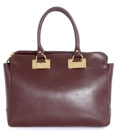Double-zip leather bag by Sophie Hulme  #matchesfashion