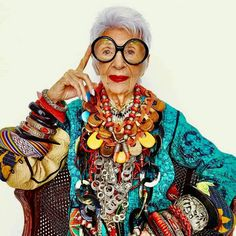Iris Apfel - A Legend.