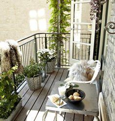 die schönsten ideen für einen kleinen balkon mit tipps, wie ihr ... - Ideen Tipps Gestaltung Aussenraume