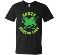 Crazy Dragon lady (green circle) T-ShirtFind out more at https://www.itee.shop/products/crazy-dragon-lady-green-circle-t-shirt-mens-printed-v-neck-t-4072 #tee #tshirt #named tshirt #hobbie tshirts #Crazy Dragon lady (green circle) T-Shirt