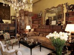 Gabrielle Coco Chanel's apartment in Paris. is a must to stay in when i go.