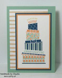 Cake Crazy, Geburtstag, Birthday, Stampin`Up!