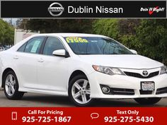 2014 Toyota Camry SE $15,959  miles 925-725-1867 Transmission: Automatic  #Toyota #Camry #used #cars #DublinNissan #Dublin #CA #tapcars
