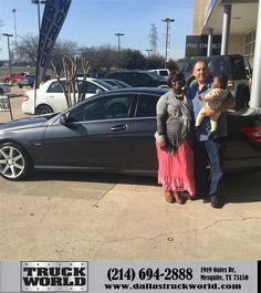 https://flic.kr/p/Ep8cLH | Happy Anniversary to Jose on your #Mercedes-Benz #C-Class from Jason Thies at Dallas Truck World! | deliverymaxx.com/DealerReviews.aspx?DealerCode=WDBL