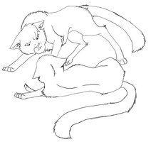 Death Line Art Breyanna Lenox Warrior Coloring Pages Cats Couple