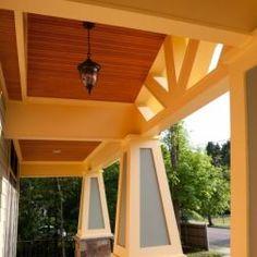 Nice porch details.