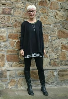 Love black...