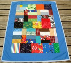 Another scrappy quilt.