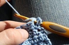 Busy fingers, busy life...: Simpel Leren Haken Deel 7: Het halve stokje