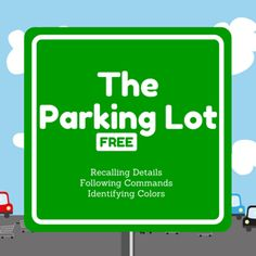 Boom Cards - FREE: The Parking Lot