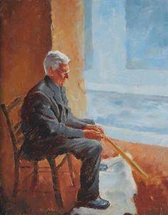 Cyprus Man Cyprus, German, Painting, Art, Deutsch, Art Background, German Language, Painting Art, Paintings