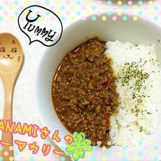無性にキーマカレーが食べたくなったので久しぶりに作ってみました  お家にある食材で殆ど簡単に作れて✨ そして凄く美味しく出来て  ご飯がめっちゃ進みました〜  マナミさんまたリピしたくなるほど美味しいレシピありがとうございます - 33件のもぐもぐ - Manami Fugikawaさんの料理 キーマカレー☆手作りナン〜ヨーグルト入りで…(*´艸`) by ikumiki