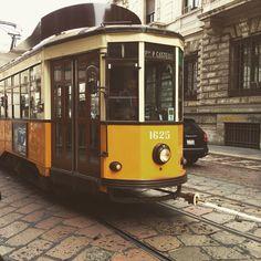 Milan....city tram