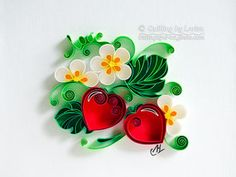 quilling, paper art, quilling love, quilling paper, quilling wedding, quilling anniversary, love together, quilling strawberry, квиллинг, квиллинг бумага, квиллинг любовь, квиллинг годовщина, квиллинг клубнички