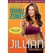 Jillian Michaels. Yikes! Killer workout. I was sore an hour after doing it.  Recommended it to my sister who loved it too!