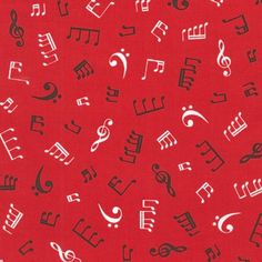 Robert Kaufman In Tune Music Red Notes