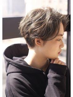Short Hair Tomboy, Asian Short Hair, Tomboy Hairstyles, Braided Hairstyles, Short Hair Cuts For Women, Short Hair Styles, Korean Haircut, Hair Again, Hair Reference