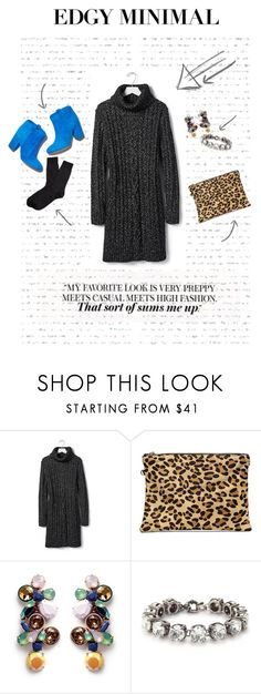 """Edgy Minimal"" by michelle-jones-i on Polyvore featuring Banana Republic, Laurence Dacade, J.Crew and Brooks Brothers"