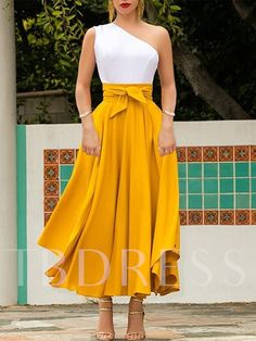 European And American Style Pure Color Bare Back Splicing Maxi Dress – chiclinen summer dresses vacation outfits vacation outfits beach vacation dresses tropical long dresses casual maxi street style dresses vintage dresses long Day Dresses, Dress Outfits, Evening Dresses, Fashion Dresses, Vacation Dresses, Long Dresses, Summer Dresses, Daily Dress, Buy Dress