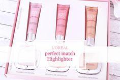 Perfect Match Highlighter - Review und 📷 @FiosWelt  #review #lorealparis #highlighter #makeup