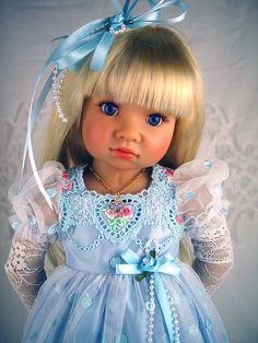 """Dress fits Kidz n Cats, 18"""", 19"""" Slim dolls. *Little Charmers Doll Designs  #Dolls"""