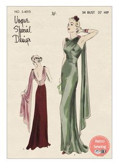 Vintage Evening Gowns, Vintage Dresses, Vintage Outfits, 1930s Evening Dress, Evening Bags, Mode Vintage, Vintage Vogue, 1930s Fashion, Vintage Fashion
