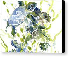 SEa Turtle Print, Sea turtle art, Sea turtle