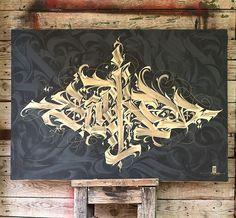 Sacred by Warios @warios1 #calligraffiti #calligraphy #typography #lettering #contemporaryart #letteringart