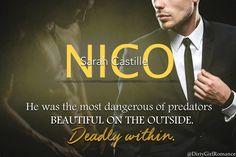 Nico (Ruin & Revenge 1) by Sarah Castille #DirtyGirlRomance