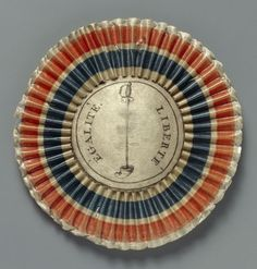 Giclee Print: Cockade in the Colours of the French Republic, after 1789 : Maximilian I, France Flag, Bastille Day, French History, French School, 18th Century, Find Art, Custom Framing, Giclee Print