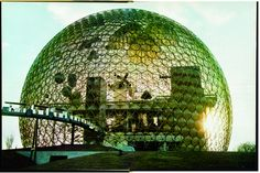 My one and only World's Fair---Expo 67, Montreal, Canada. Buckminster Fuller's USA Pavilion became the inspiration for EPCOT's centerpiece 11 years later.