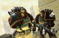 """""""Into the fire of battle! Unto the Anvil of War! Warhammer 40k Salamanders, Salamanders Space Marines, Warhammer 40k Art, Warhammer Models, Warhammer Fantasy, Eternal Crusade, The Horus Heresy, Fantasy Heroes, Into The Fire"""