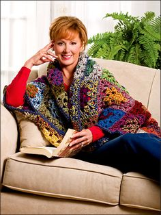 Hoosier Granny Shrug - Easy Crochet Pattern