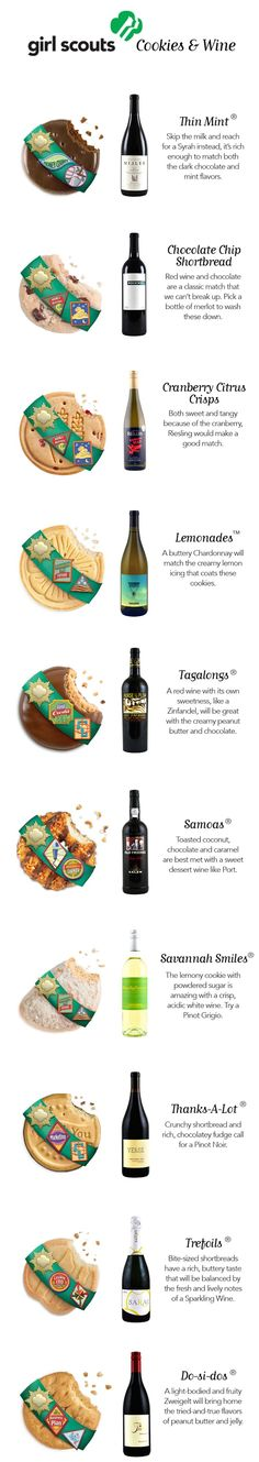 Girl Scout Cookies Wine Pairing Guide
