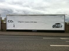 #audi #cars #brand #ads #advertising #advertisement #marketing #city #dirt #energy #sustainability #environment #co2 #reklam #outdoor