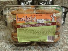 What's Good at Trader Joe's?: Trader Joe's Inside Out Carrot Cake Cookies