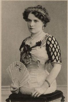 Mademoiselle Gabrielle was born in Switzerland in 1884. She was a perfect lady until you got to her torso, and then she just ended.