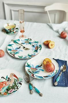 Paradise Found Dinner Plate// #anthropologie @anthropologie