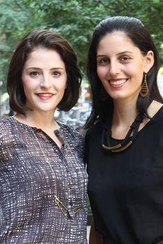 Meet Maxine Bedat and Soraya Darabi, founders of Zady. #LevoLeague #BeyondThePencilSkirt
