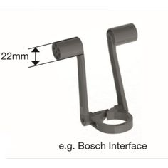Spacer Two Device Holder Bosch interface