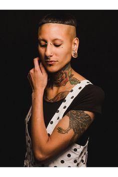 Jocelyn of Elemental Body Adornment. #refinery29 http://www.refinery29.com/body-modification-portraits#slide-2
