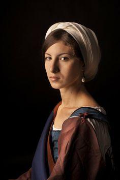 European Fortune Teller/Gypsy Baroque Costume. Italy, XVii century. Inspired by Caravagisme. Re-enacting by Liza Fudim (Russia), 2012-2013. Photo by V. Visnevsky http://www.artphotoschool.ru/
