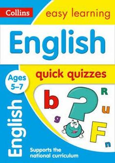 English Quick Quizzes Book - Ages 5-7 by Collins Easy Learning