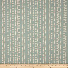 Throw on your party frocks and get ready for a Jubilee! Designed by Melody Miller for Cotton + Steel Fabrics, this cotton print collection features bright colorways with retro flair and metallic/neon accents. Perfect for quilting, apparel, and home decor accents. This print features vertical strings of retro shapes that remind us of a beaded curtain. Colors include teal, cream, and red, on a muslin base with charming speckles.